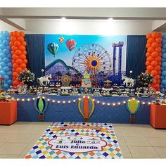 Festa: Parque de diversões.  . |Decor: @luferreirafestas #DentroDaFesta. . . . #party ...