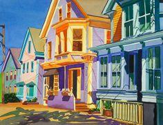 Jean Segaloff. ~  ''Provincetown, East End''