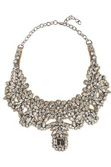 Amazing!  Valentino Silver-plated Swarovski crystal necklace | NET-A-PORTER
