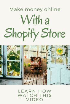 Shopify is an easy to use online store builder trusted by over stores. Fully customizable store design with a secure shopping cart. Start your free trial today. Earn Money From Home, Make Money Online, How To Make Money, How To Become, Online Store Builder, New Career, Be Your Own Boss, Starting A Business, Extra Money