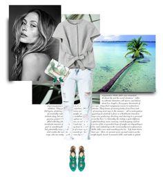 """Beach Chic II"" by randomlife ❤ liked on Polyvore featuring Zara, Philosophy di Alberta Ferretti, Ted Baker, Bowie, boyfriendjeans, summerstyle, summerfashion, summer2015 and springsummer2015"