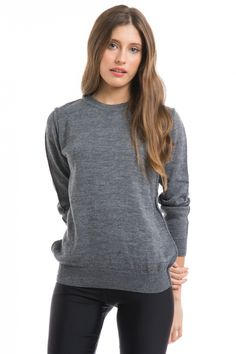 Sweater Orlando  - Gris en DeluxeBuys!
