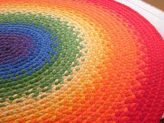 OFF SALE Braided Rainbow rug made by greenatheartrugs Rainbow Butterfly, Rainbow Baby, Rainbow Braids, Rainbow Bedroom, India Home Decor, Rainbow Aesthetic, Braided Rugs, Little Girl Rooms, My New Room