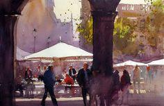 Alvaro Castagnet #watercolor jd