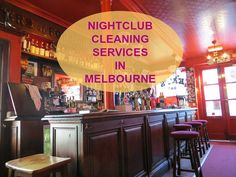 With tailored commercial cleaning services at affordable prices, we're one of the leading nightclub cleaning companies in Melbourne, providing services of the highest standard. Call us for booking : 1800 477 000 & (03) 95 477 477