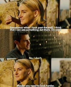 (2) Twitter Iconic Movie Characters, Iconic Movies, Tris And Tobias, Divergent Series, I Can, Climbing, Movie Posters, Twitter, Building