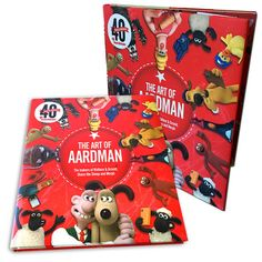 The Art of Aardman: The Makers of Wallace & Gromit, Chicken Run, and More