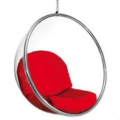 Bubble Hanging Chair - Red