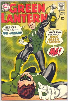 Green Lantern #59.  The debut of Guy Gardner, the next GL from Earth after Hal Jordan.