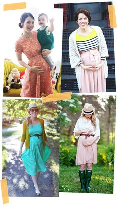 Style File: Blogger Baby Bumps #maternity #style
