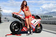 Ducati superbike MotoGP glamorous grid girls