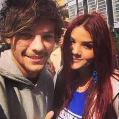 Louis today in london  4/11/15