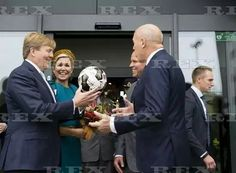 King Willem-Alexander and Queen Maxima visit to Almelo and Twente, Netherlands - 27 Oct 2016  King Willem-Alexander and Queen Maxima from The Netherlands visit the place Almelo and the region North East Twente  27 Oct 2016