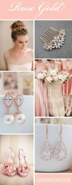 Rose Gold Weddings inspiration
