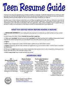 5 resume for teens sample sample resumes