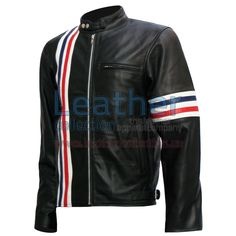 Easy Rider Captain America biker black leather jacket is the inspired leather jacket worn by Peter Fonda (as Wyatt) in the classic film, which gave him a really stylish look and, of course, will also be to the person who will wear it. this is done exactly as the original. it has been carefully designed and created with high attention to detail. The jacket is made from 100% soft black leather sheep