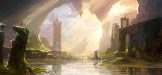 Environment Concept | Video Games Artwork