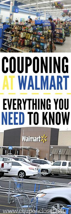 Couponing at Walmart - Tips you need to know before you shop. Couponing at Walmart - here are some tips to help you save big at Walmart. Couponing at walmart doesn't hasn't to be hard with these tips. Extreme Couponing, How To Start Couponing, Couponing For Beginners, Couponing 101, Shopping Coupons, Grocery Coupons, Shopping Hacks, Free Coupons, Target Coupons