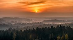 """New day Rising - Sunrise at Aulanko nature reserve, Hämeenlinna, Finland.  If you want to see more my work,<p><a href=""""www.facebook.com/laurilohiphoto"""">Follow me on my Facebook page</a></p>"""