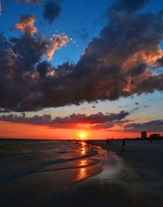 Siesta Key Beach Sunset 2012. I have been thinking this would be a great vacation place in the USA.