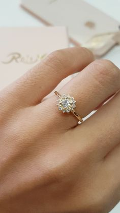 Unique Two tone Gold Engagement Rings Diamond Bridal Set Ring Peach Pink Morganite Ring - Fine Jewelry Ideas Pretty Wedding Rings, Silver Wedding Rings, Wedding Rings For Women, Bridal Rings, Diamond Wedding Bands, Wedding Jewelry, Gold Diamond Band, Gypsy Jewelry, Fine Jewelry