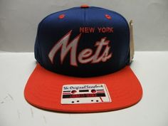MLB New York Mets Team Script 2 Tone Retro Snapback Cap by American Needle. $9.94. MLB New York Mets Team Script 2 Tone Retro Snapback CAP From the Original Cooperstown Collection. Made and designed by American Needle Size is a One Size - SNAP Back  Top quality men's Original Old School snapback cap. 2 Tone Cap with Flat Visor- Green Under Visor Embroidered on the front is a TEAM logo. 100% Authentic. Brand new & never worn. Tags Included. OFFICIAL LICENSED MAJOR LEAGUE BASEBAL...
