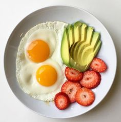 Great simple breakfast with Healthy protein, fats and sweets