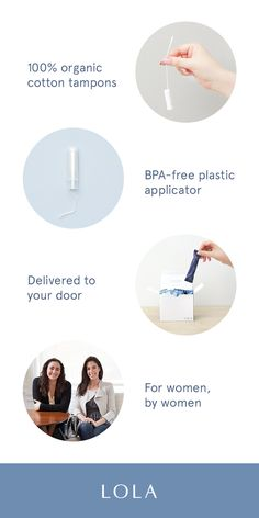 This female-founded tampons wants to simplify your period. All-natural products, customize your perfect mix of products, and delivery right to your door. A better month awaits you.