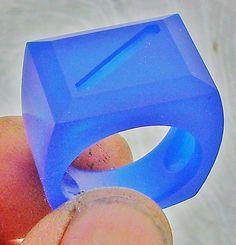 40 gram Ring WIP / 2 by Scott Schreiber Jewelry Design, via Flickr - Modello in cera per anello di 40 grammi