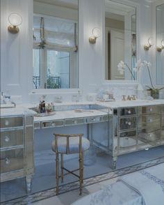 Another glamorous bathroom from Jessica Lagrange Interiors.
