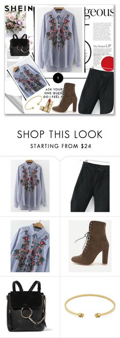 """""""SheIn"""" by musicajla ❤ liked on Polyvore featuring Chloé, Gucci and Guerlain"""