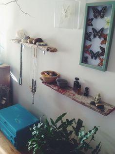 SACRED SHELVING // A SIMPLE DIY via THE BOHEMIAN COLLECTIVE