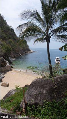 Colomitos Beach, Banderas Bay, Mexico. Just south of Puerto Vallarta. Plan your next trip to Puerto Vallarta with the ultimate travel guide: http://visit-vallarta.com