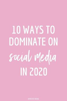 Ready to dominate on social media in Here are 10 ways you can use each of your social media pages to their full advantage. media marketing business tips Social Media Marketing Business, Social Media Trends, Social Media Content, Facebook Marketing, Digital Marketing Strategy, Content Marketing, Marketing Ideas, Social Media Games, Guerrilla Marketing
