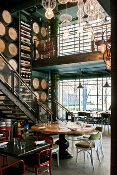 Trattoria Mercatto, Toronto. Interior design by Studio Munge.