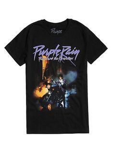 Prince Purple Rain T-Shirt (Oztmu) Yoda T Shirt, Dye T Shirt, Prince Shirt, Prince Purple Rain, Buckle Boots, Mom Shirts, Band Shirts, Guys And Girls, Hot Topic