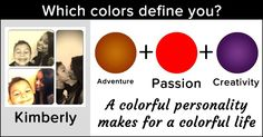 Which colors define you?