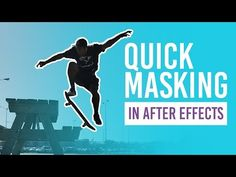 Quick masking using Roto Brush After Effects, Motion Design, After Effect Tutorial, Film Making, Animation, Work Inspiration, Masking, Free Stuff, Video Editing