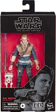 Star Wars The Black Series Cal Kestis Toy Scale Jedi: Fallen Order Collectible Action Figure, Toys for Kids Ages 4 & Up Star Wars Figurines, Star Wars Toys, Star Wars Jedi, Star Wars Art, Star Trek, Star Troopers, Big Battle, Star Wars Episode Iv, Star Wars Action Figures