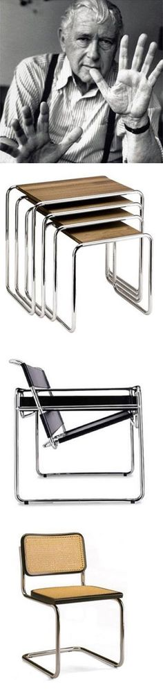 Marcel Breuer's products on archiproducts #bauhaus #design #breuer