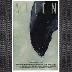 Alien Movie Poster Illustration