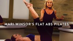 Target your midsection and core to sculpt a lean, firm look with Mari Winsor's Flat Abs Pilates. Winsor Pilates, Pilates Abs, Flat Abs, Get In Shape, Sculpting, Strength, Exercise, Yoga, Health