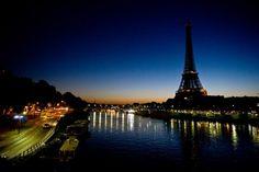 La Tour Eiffel et les bords de Seine,