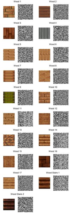 Wood Tiles by frootzcat