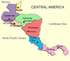 Central America! I been to Honduras and Nicaragua and can't wait to go to the rest! Mission trips!