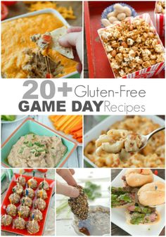 20+ #GlutenFree Game Day Recipes  #football #gameday