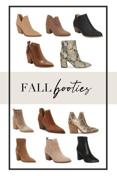 The most versatile booties for Fall 2020   Sharing a round up of some of my favorite fall booties that I have my eye on this season   #fallfashion #booties #shoeinspo