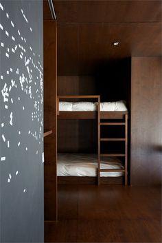 La Luge, La Conception, 2011 by YH2 #design #bedroom #wood #interiors