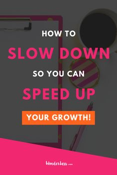 Give this short & sweet episode a listen to learn HOW and WHY you should SLOW DOWN in your business so you can SPEED UP your growth! I took the time to slow down, focus and get organized to set myself up for MAJOR success in 2019 and today I'm sharing EXACTLY how I did it so you can experience the same growth in your own biz! #entrepreneurtips #onlinebusinessgrowth #onlinebusinesstips