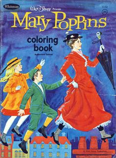 Mary Poppins Coloring Book